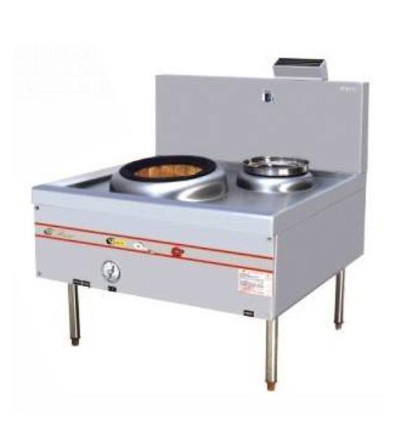 燃气开放型上海式炒炉(电磁安全开关)