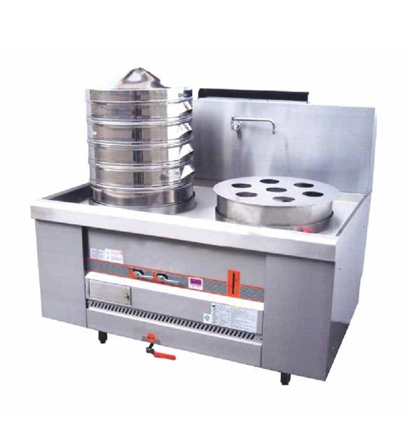 燃气环保蒸炉(电磁安全开关)